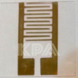 الکترود شانه ای دو ترمیناله طلا